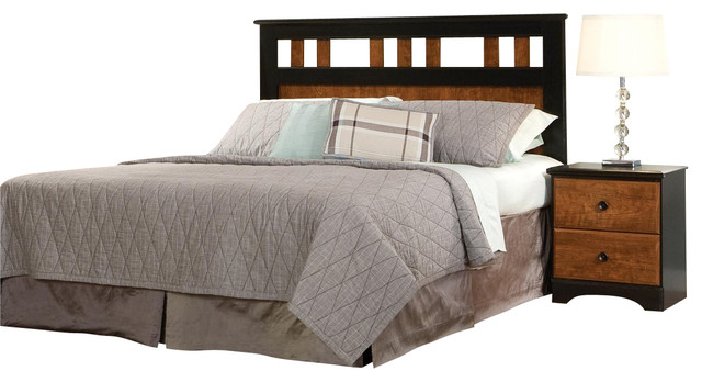 Standard furniture standard furniture steel wood panel Traditional wood headboard