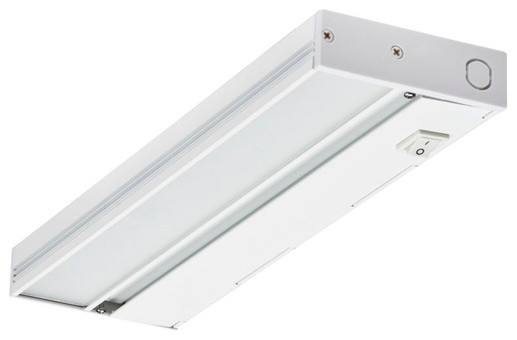 """NICOR 12"""" Slim Dimmable LED Under Cabinet Light - Contemporary - Undercabinet Lighting - by ..."""
