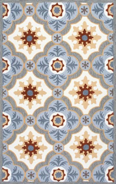 nuloom hand hooked fleurdelis lv03 rug blue 5u002639 x  Fleur De Lis Rugs  Nxtgen Fleurdelis. Fleur De Lis Bath Rug