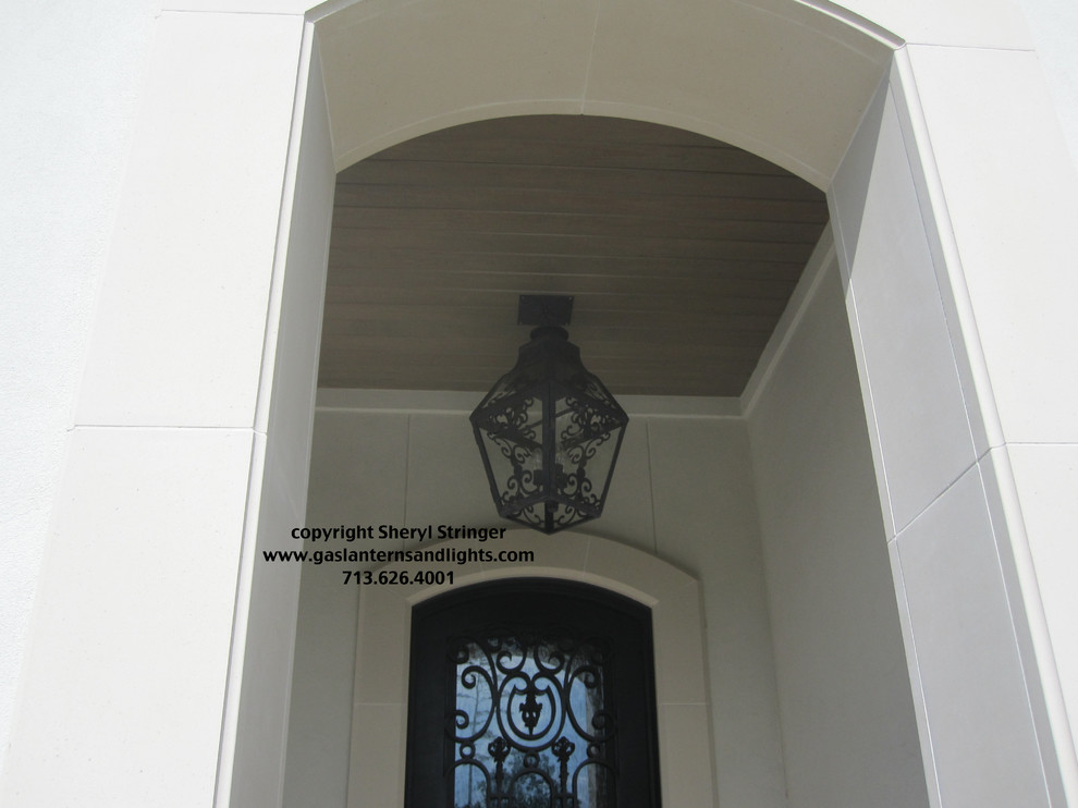 Sheryl's Extra Large French Style Lantern with Scrolls