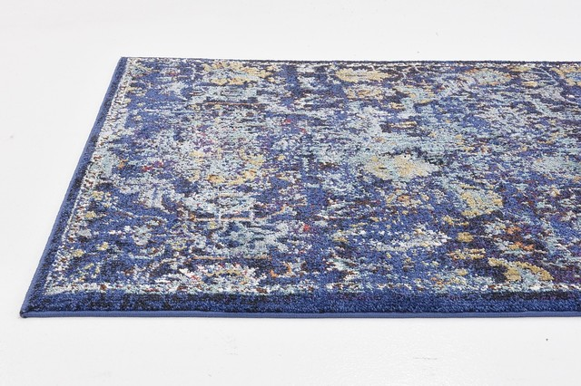 3&x27;3x5&x27;3 Lexington Navy Blue Area Rug.