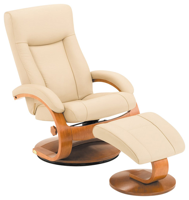 Swivel Recliner Cobblestone Top Grain Leather By Oslo Collection Contemporary Chairs Mac Motion