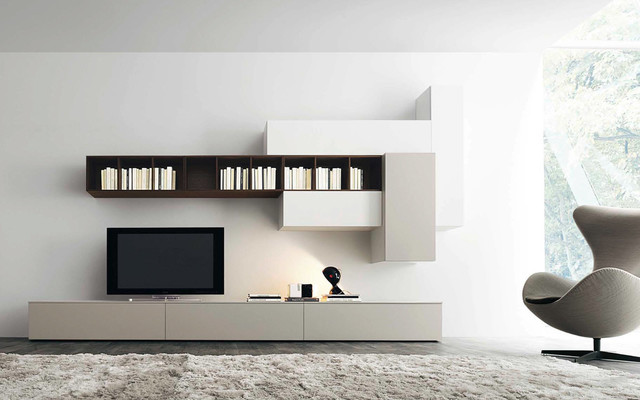 tv wand lampo l2 31 modern berlin by. Black Bedroom Furniture Sets. Home Design Ideas