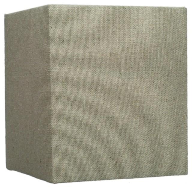rectangular drum lampshade 6 x7 contemporary lamp. Black Bedroom Furniture Sets. Home Design Ideas