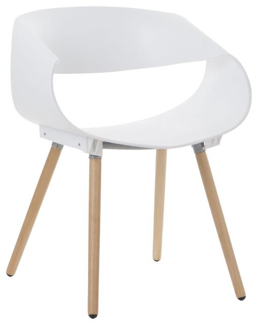 Benda Dining Chair, White