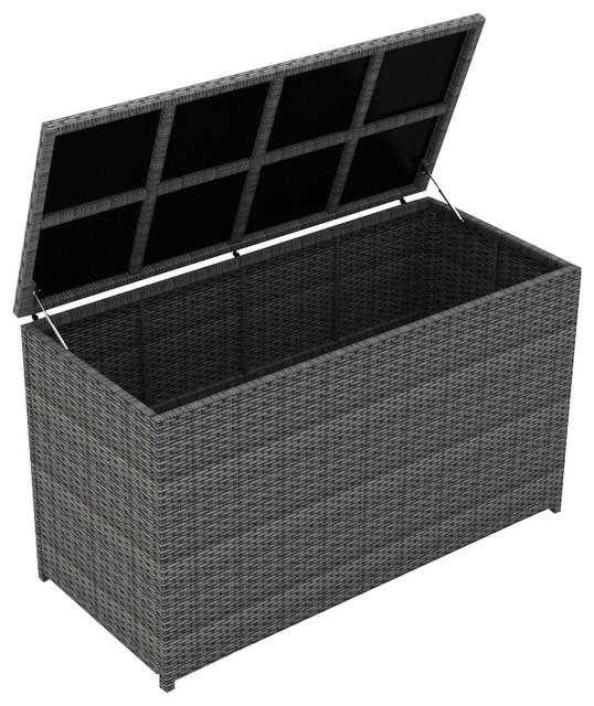 District Cushion Storage Box Tropical Deck Bo And By Patio Productions
