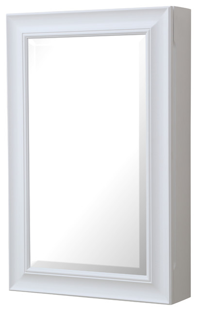 Napa Wall-Mounted Medicine Cabinet, White.