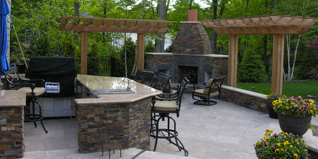 Perfect Awesome Backyard Hardscape Design Ideas Gallery House Design .