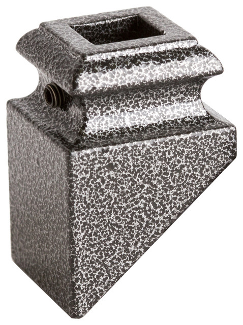 Box of 5 Silver Vein 16.2.1 Plain Straight Bar Solid Iron Baluster for Staircase Remodel