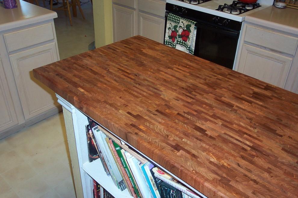Mesquite End grain Butcher Block counter tops