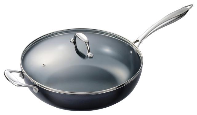 Kyocera Ceramic-Coated Wok Pan.
