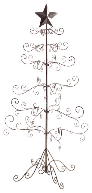 antique wire christmas tree 25x49 traditional christmas trees - Wire Christmas Tree