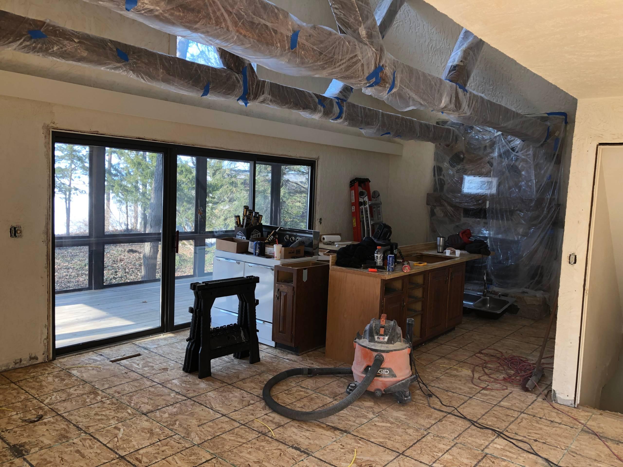LaKe Michigan cottage rehab
