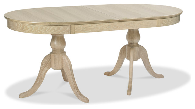"""Bourne American White Oak Extendable Dining Table, 70""""."""