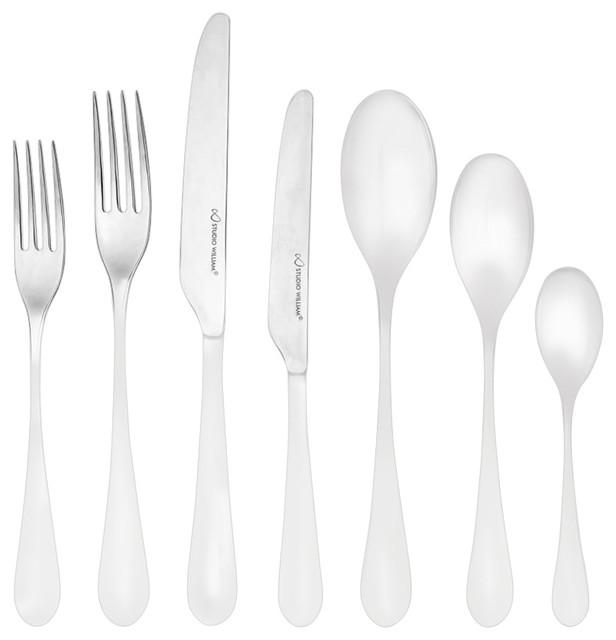 studio william welch mulberry mirror cutlery set 24 piece