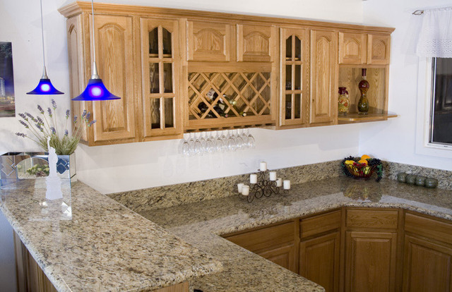 honey oak kitchen cabinets with quartz countertops painted home design traditional wall color