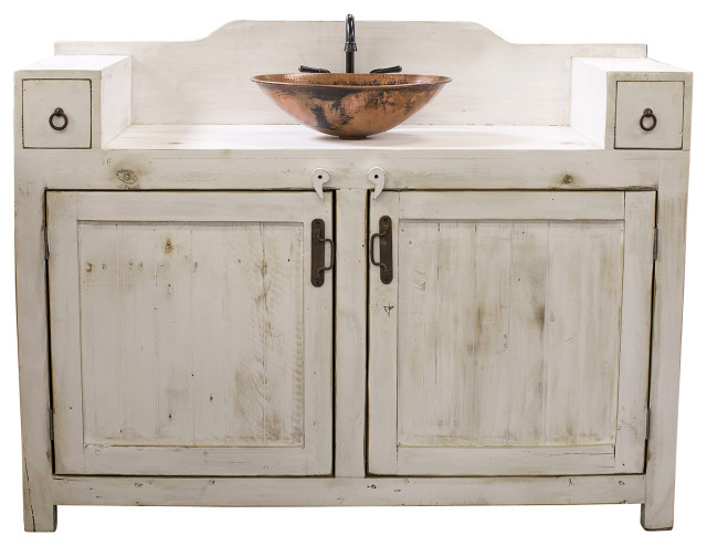 Gwenn Farmhouse Vanity Farmhouse Bathroom Vanities And Sink Consoles By Foxden Decor Houzz
