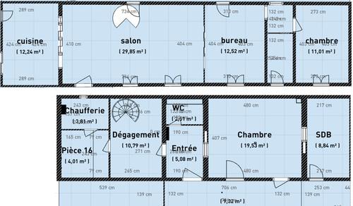 Plan Maison Terrain En Longueur Elegant Plans De Maison Modle