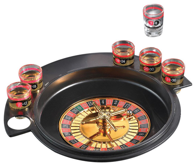 Card roulette drinking game