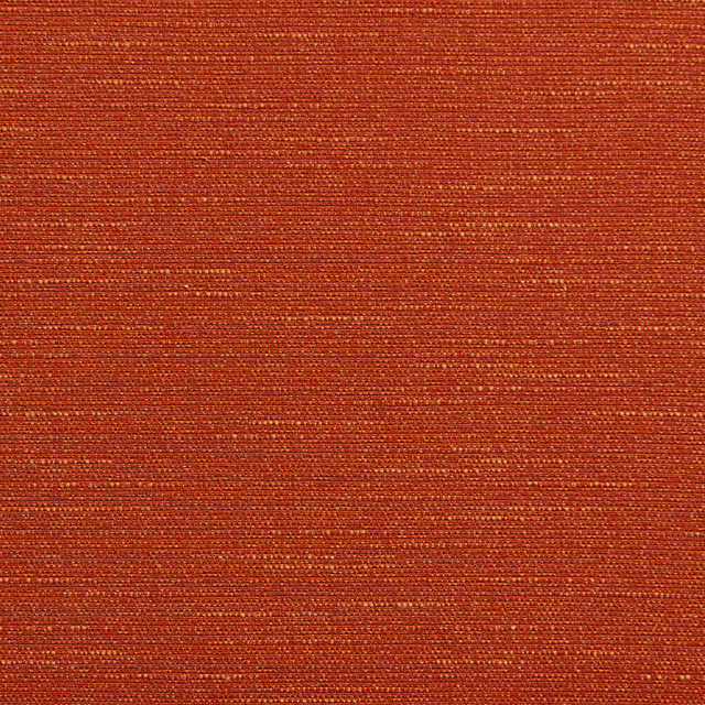 Orange Textured Solid Jacquard Upholstery Fabric By The
