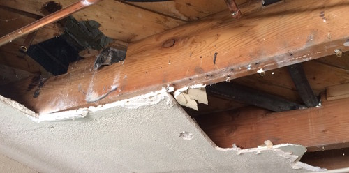 Notching A Floor Joist Sister Notched 2x8 Joists