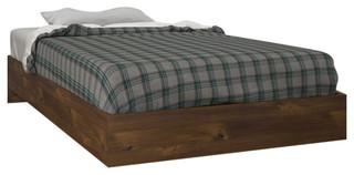 Tolva Platform Bed, Truffle, Twin