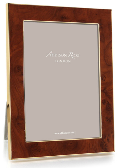 Addison Ross Toscana Amber Gold Plate Frames Contemporary