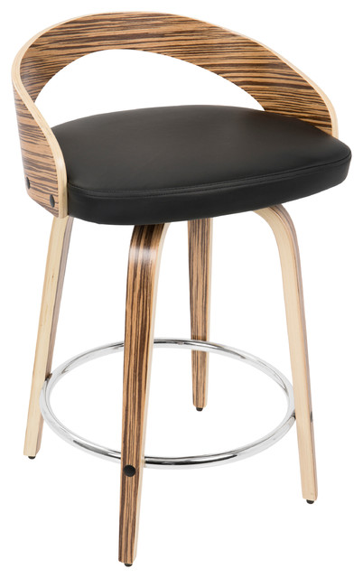 Grotto Mid Century Modern Counter Stool Midcentury Bar