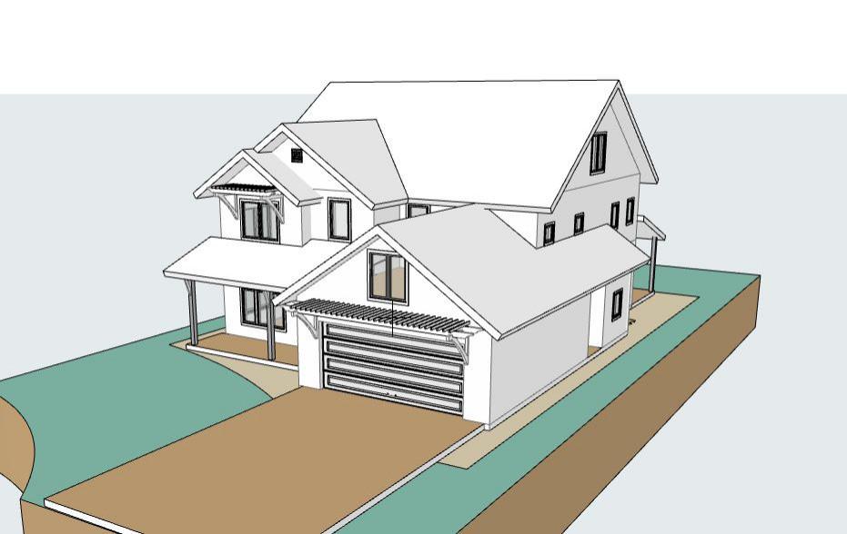 Contemporary Farmhouse Forever Home