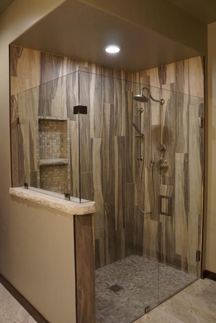 Wood Grain Shower Tile Arts Crafts