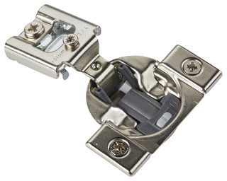 """105 Degree Compact 38N Blumotion .75"""" Overlay Press-In Soft Close Cabinet Hinge - Contemporary ..."""