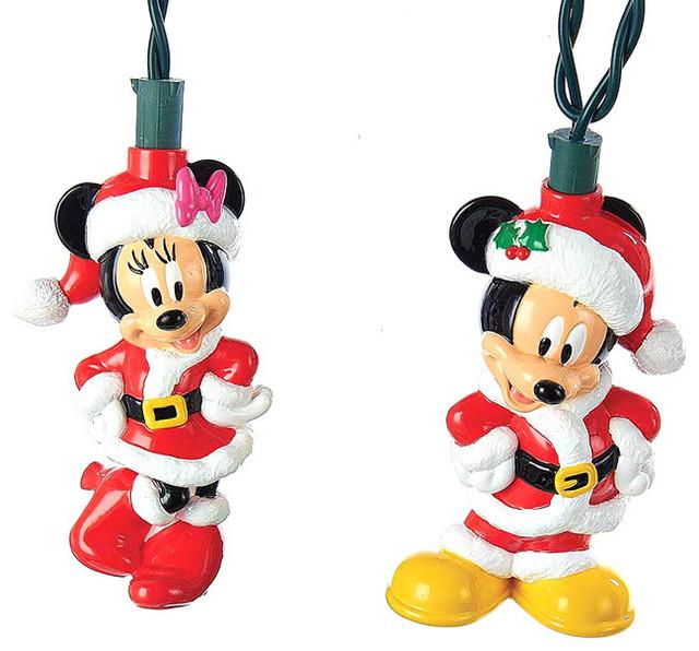 Kurt Adler Battery-Operated 6-Light Mickey and Minnie LED ...
