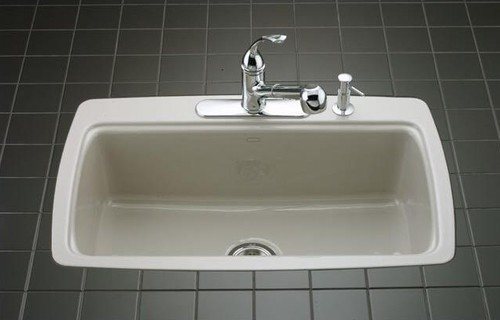 Tile In Kitchen Sink Are flush mounted tile in sinks prone to leaking workwithnaturefo