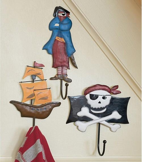 Pirate Wall Hooks