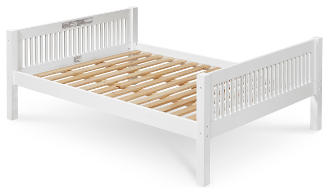 Camaflexi Full Size Platform Bed With Twin Trundle Mission