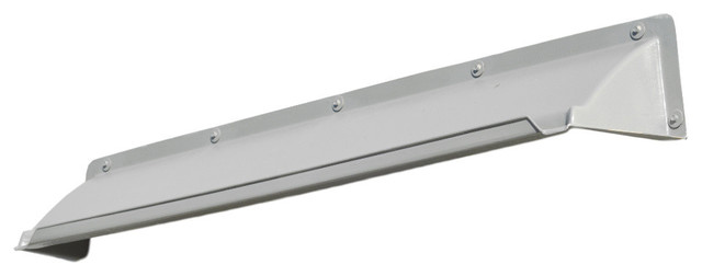 "Single Door Canopy For Mild Climates, 52"" Wide, Gray."