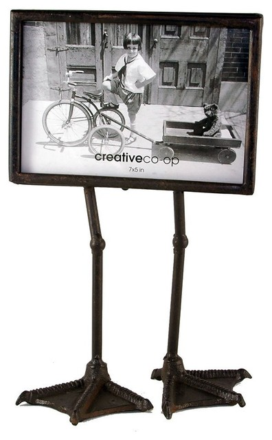 Duck Feet Metal P O Frame Eclectic Picture Frames By The City Farm