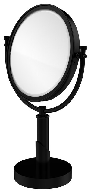 "Tribecca Collection 8"" Vanity Top Make-Up Mirror 3x Magnification."