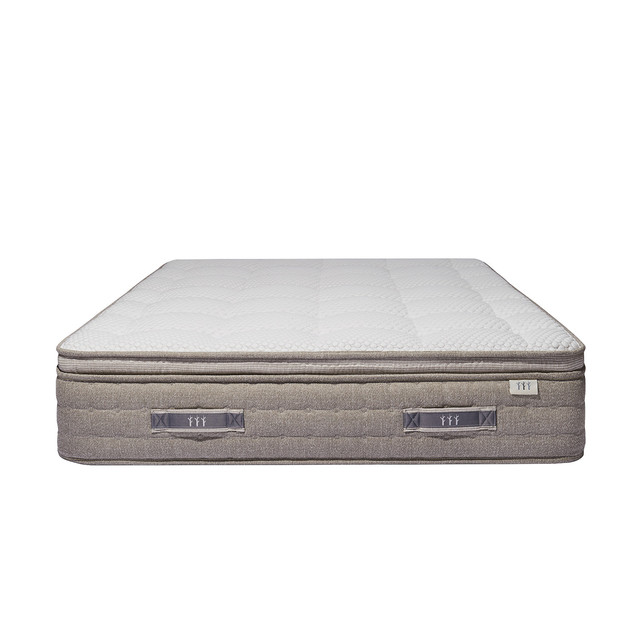 Brentwood Home Mirador Latex Mattress, Full.