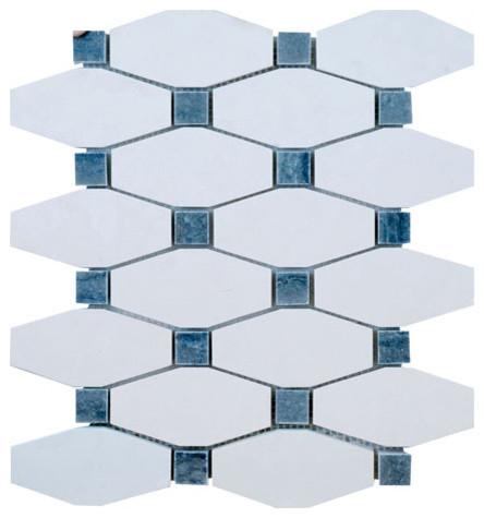 Boliche Mosaics transitional-mosaic-tile