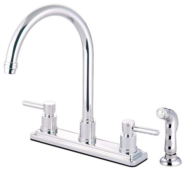 modern concord polished chrome kitchen faucets faucets modern kitchen