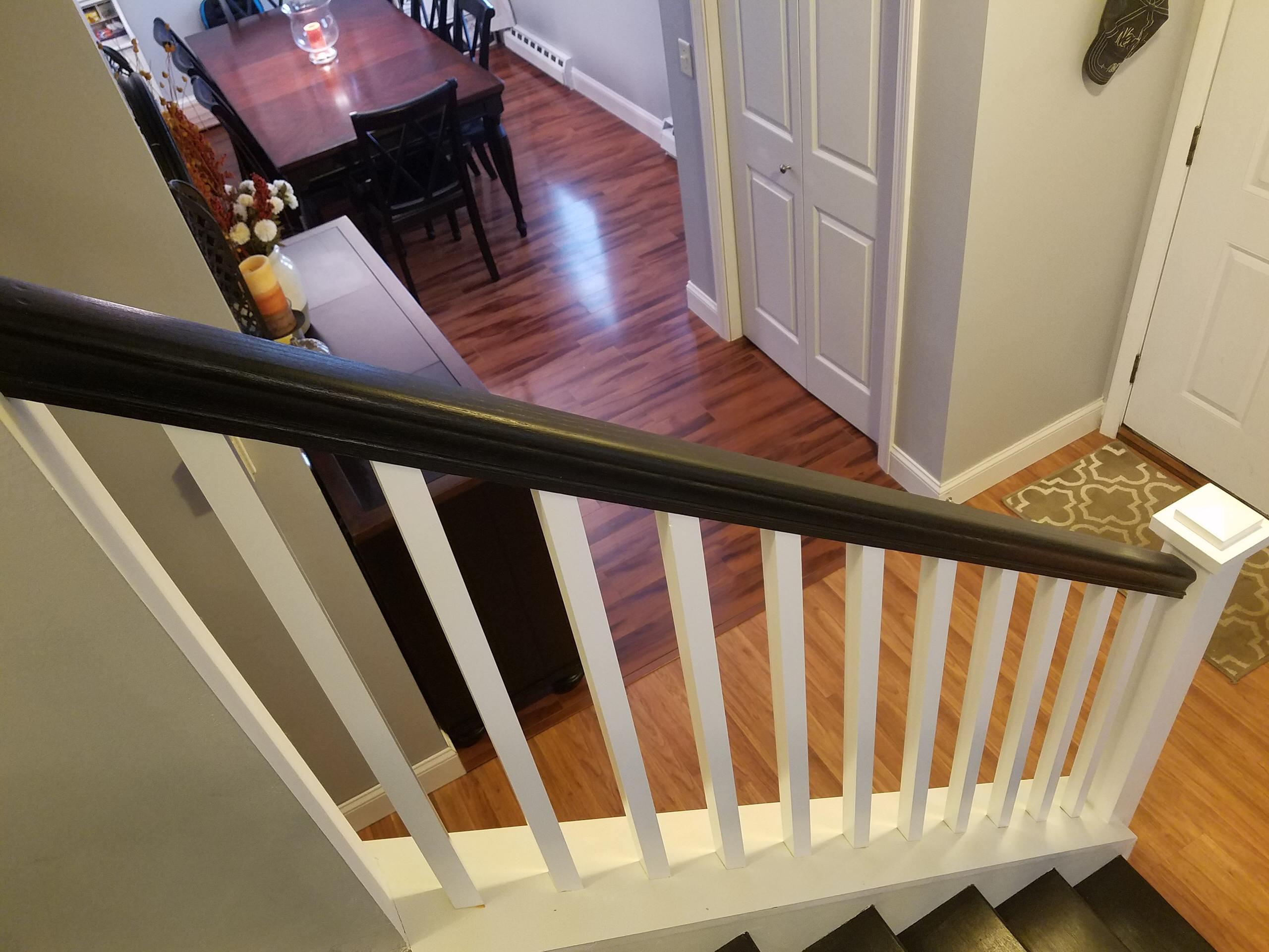 Stair Railing Update