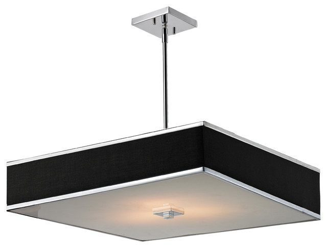 Z Lite 3 Light Rectangular Pendant