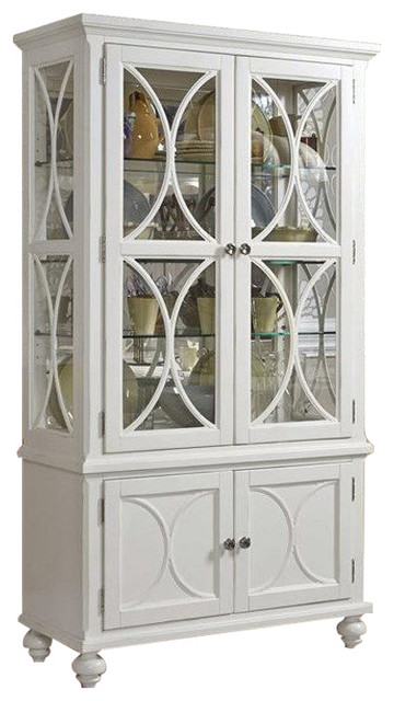 American Drew Lynn Haven Curio China Dover White