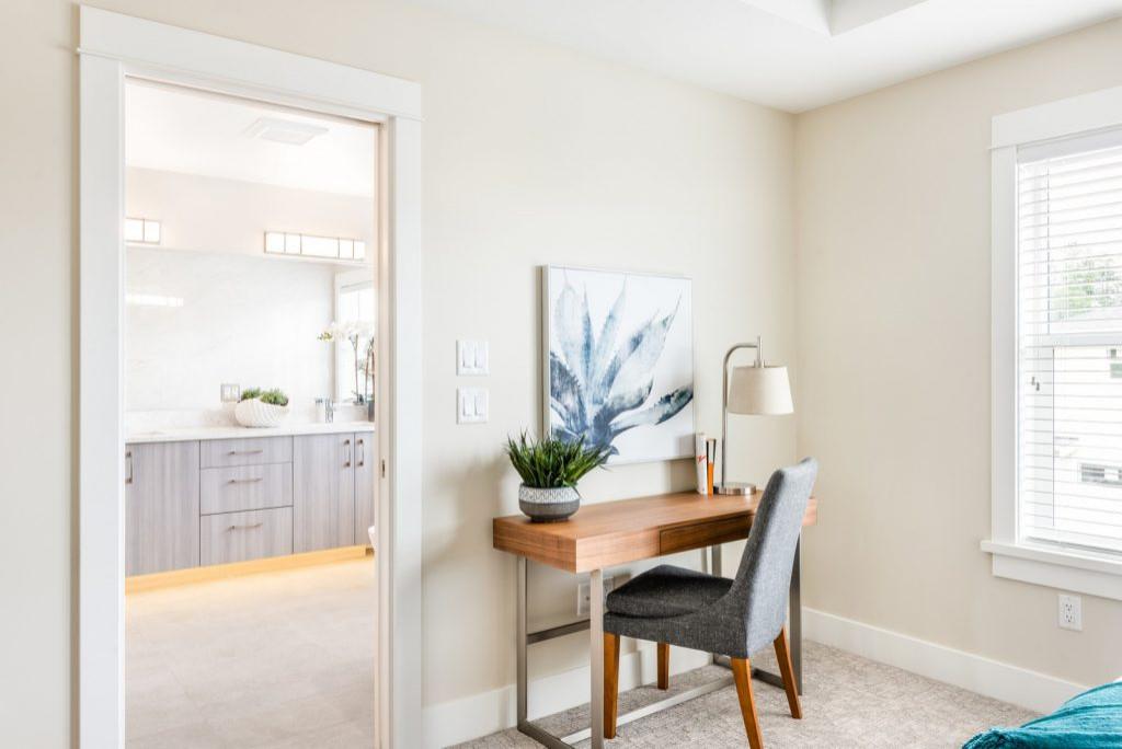 Bridlewood - Show Home Staging Master Bedroom