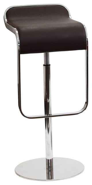 Lem Leather Barstool Contemporary Bar Stools And