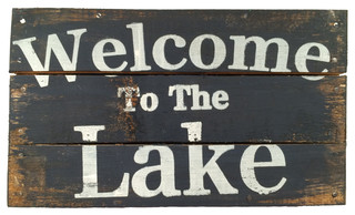 Adventure Marketing Quot Welcome To The Lake Quot Sign Amp Reviews