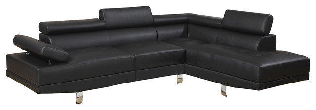 Marvelous Black Faux Leather Sectional Sofa Sale Cjindustries Chair Design For Home Cjindustriesco
