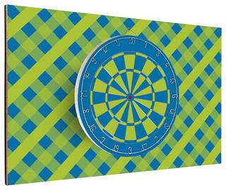 Alpha Blue Dart Backboard Combo - Contemporary - Darts And Dartboards - by Darts & Decor