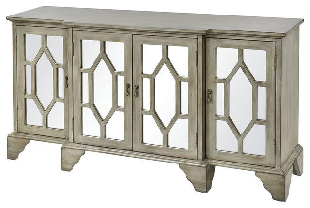 Tamron Antique Gray Cabinet.
